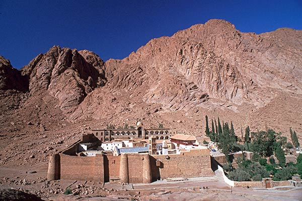 mt sinai and st catherines monastery