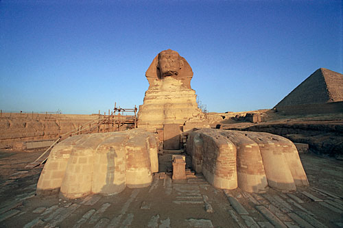 Sphinx at Dawn