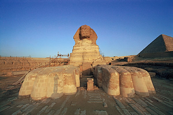 The Great Sphinx at Dawn