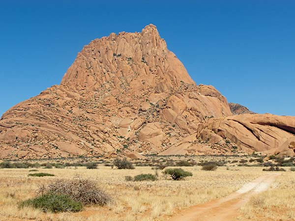 Spitzkoppe rock painting