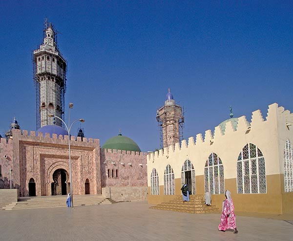 The Mosque of Touba, Senegal