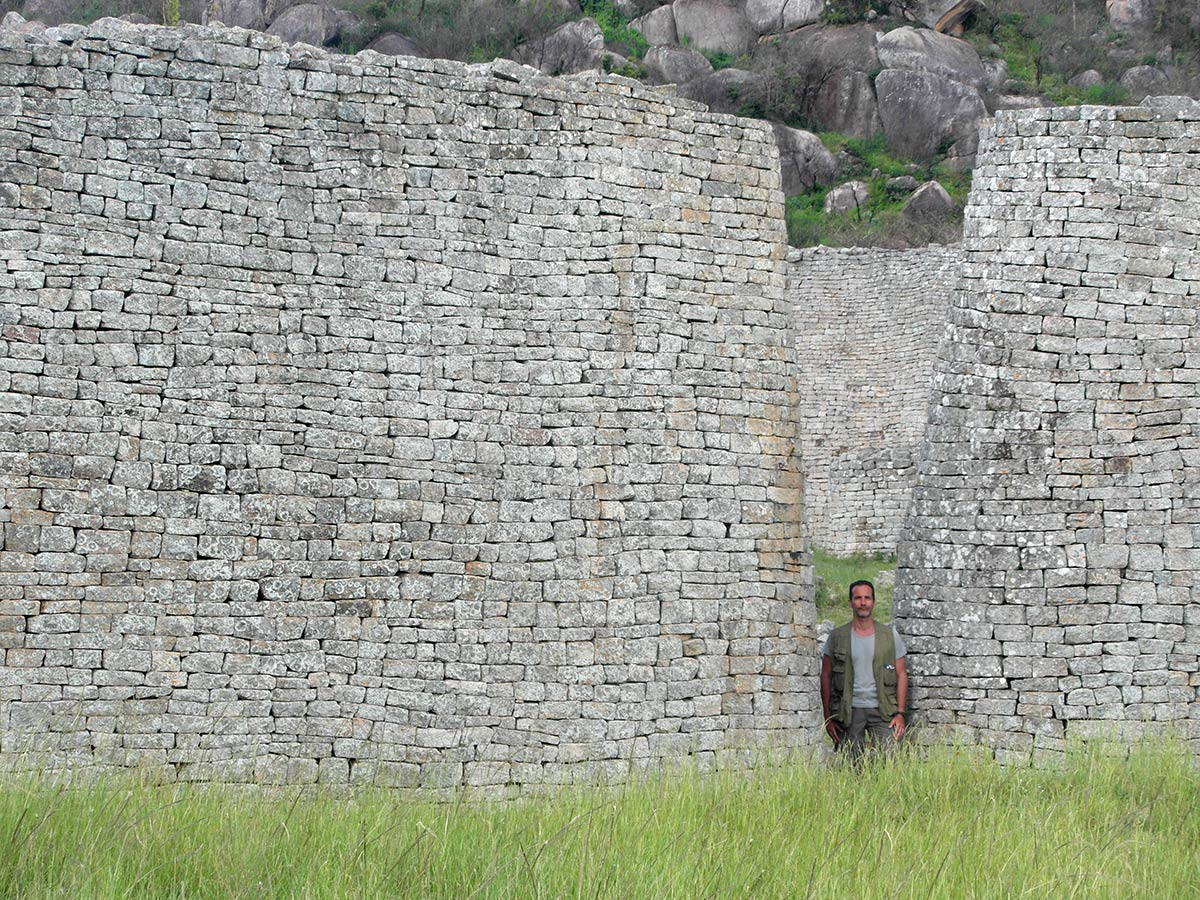 Great Zimbabwe ruins, entrance portal