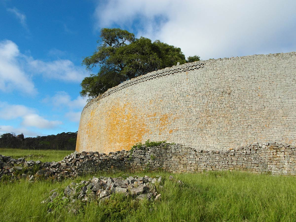 Great Zimbabwe ruins, outer walls