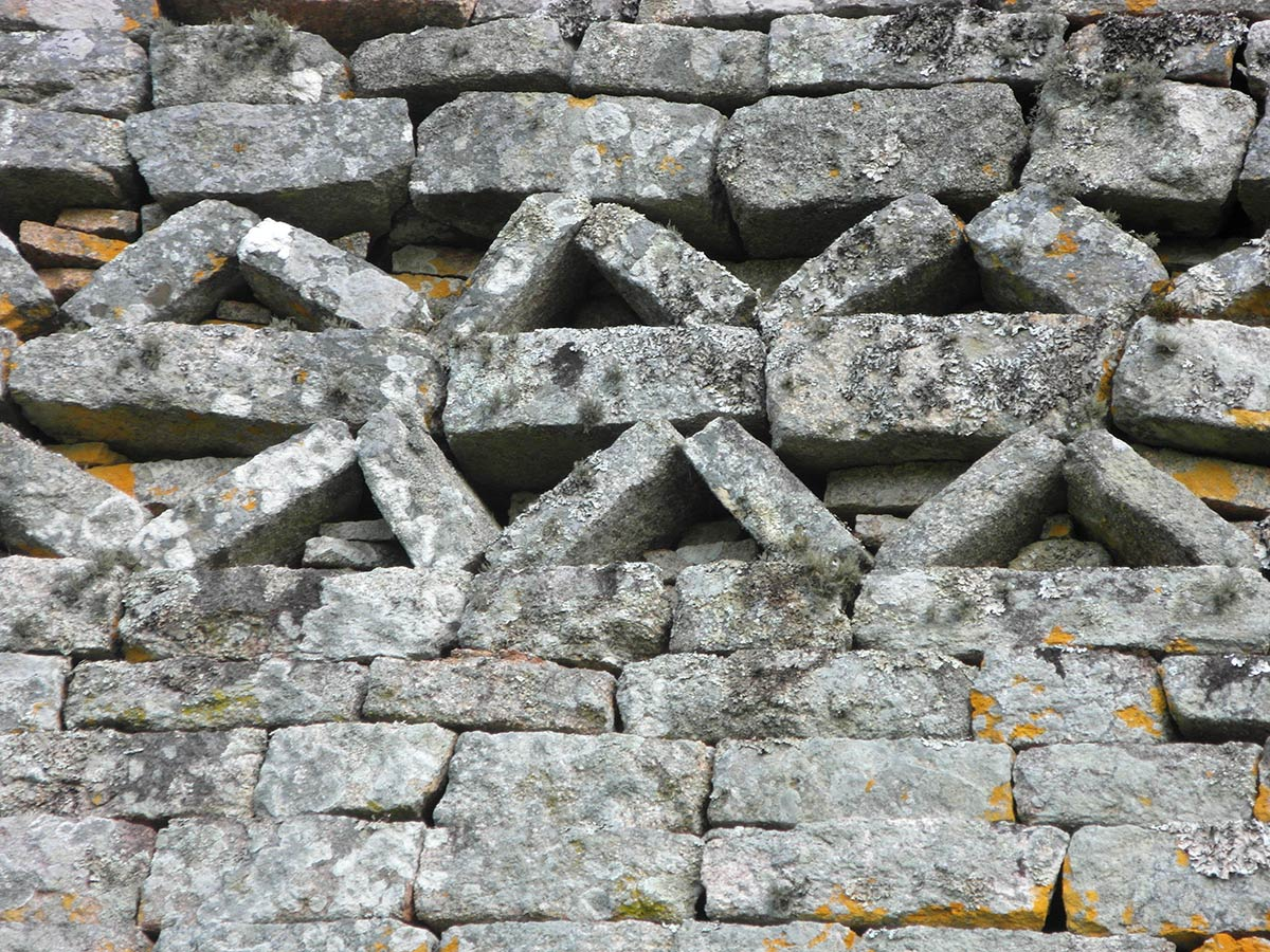 Great Zimbabwe walls, detail 8