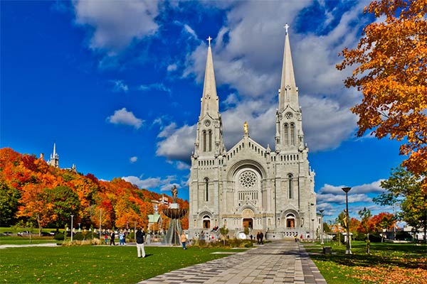 Basilica of Sainte-Anne-de-Beaupré, Quebec