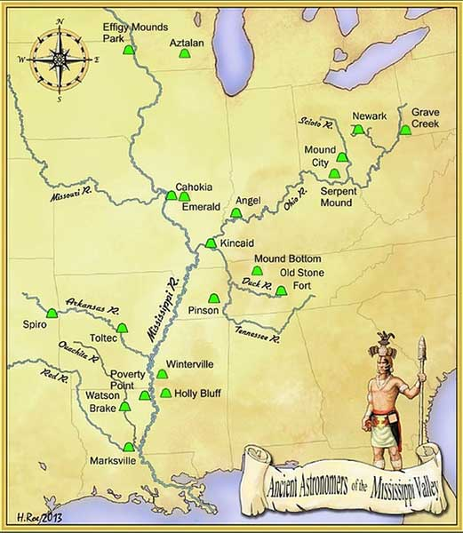 Ancient Astronomers of the Mississippi Valley