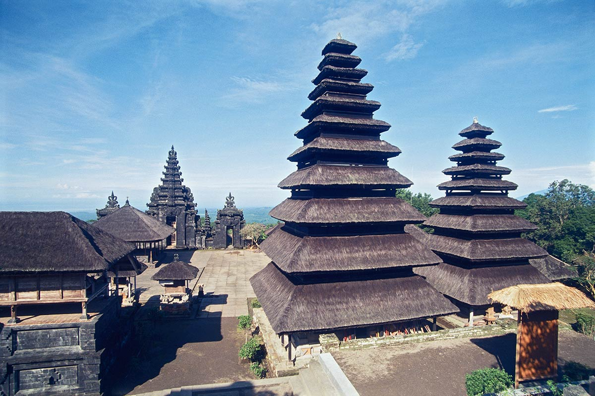 Sacred sites of bali for Spaces and places
