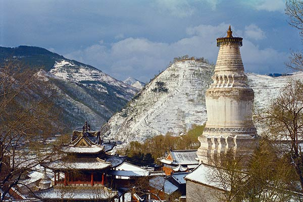 Monasteries of Wu Tai Shan, China
