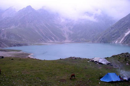 Sheshnag Lake, near Amarnath cave