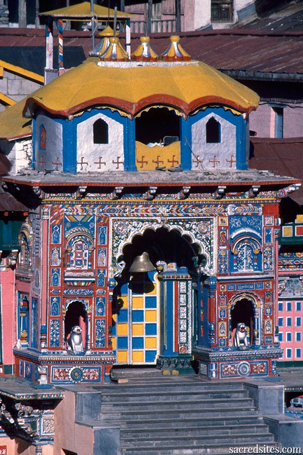 The Holy Dhama Temple of Badrinath