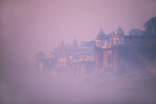 Banaras in the mist