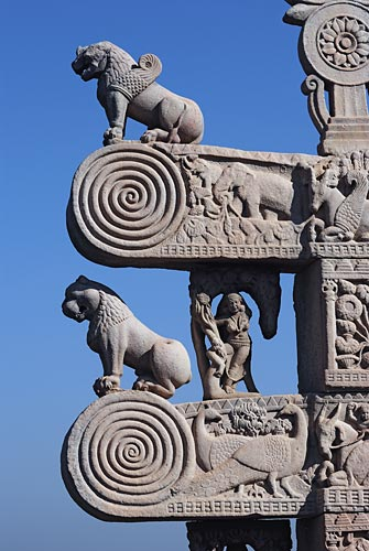 Great Stupa, Sanchi