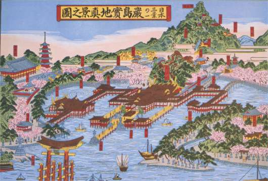 The Island Shrine Of Itsukushima Places of Tourist in The World