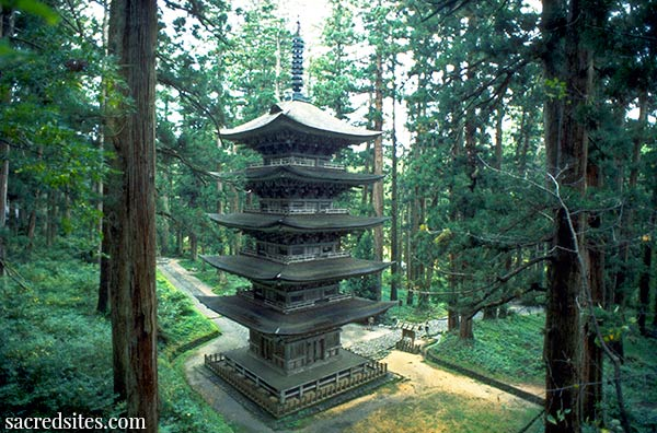 Haguro San, Go-Jyu-No-To Five-storied Pagoda
