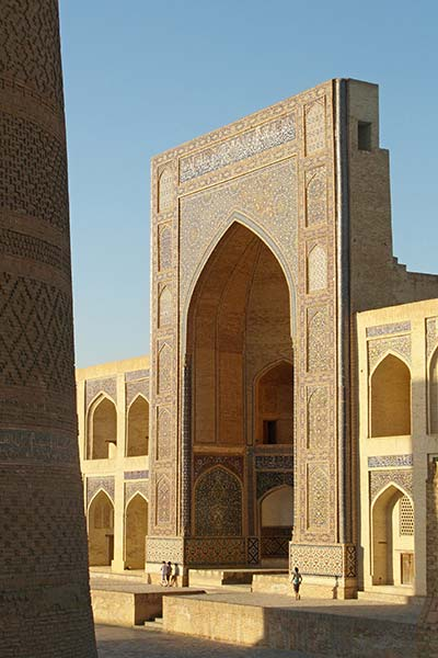 Entrance to Mir i Arab Medressa, Bukhara