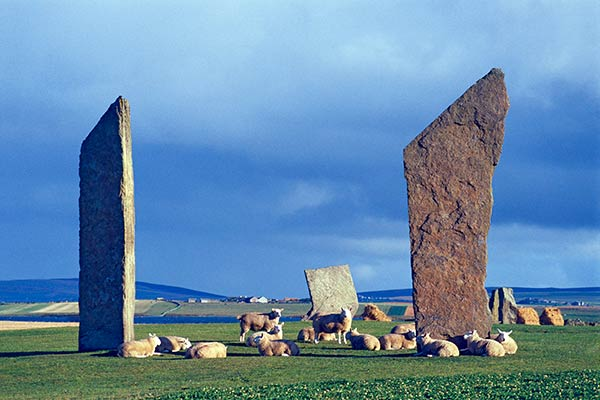 Stones of Stenness Orkney Island, Scotland