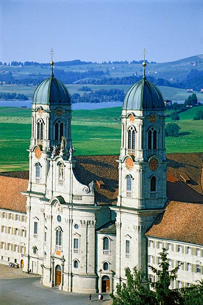 The Benedictine Abbey of Einsiedeln, Switzerland