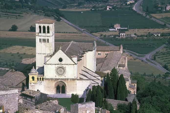 Basilica of St. Francis of Assisi, Italy