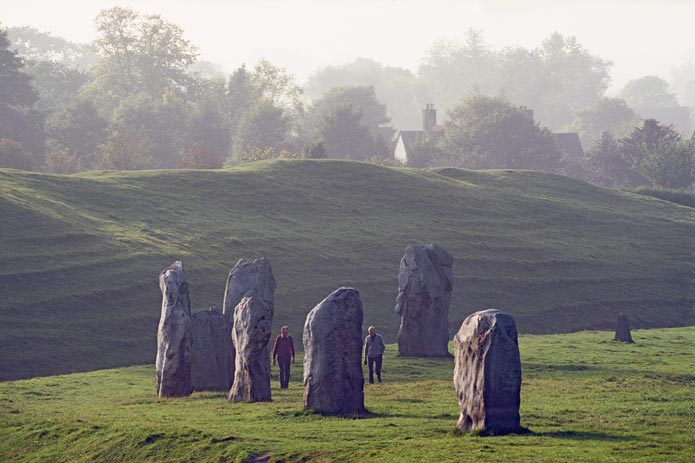 Stone ring of Avebury, England