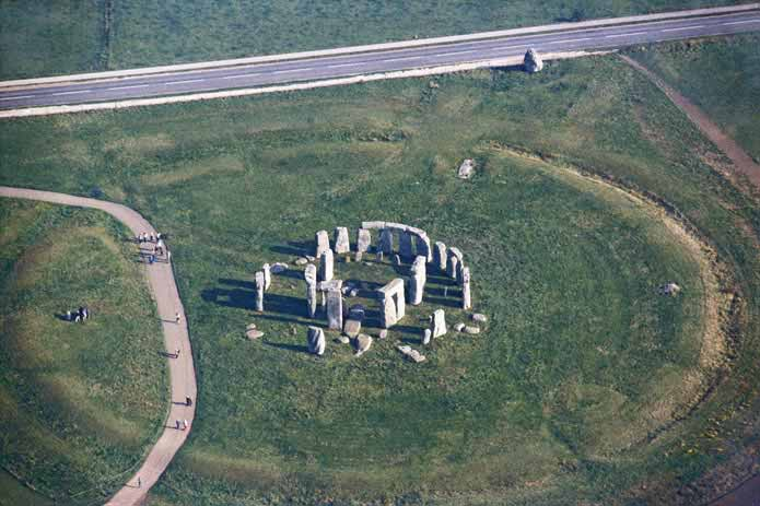 Stonehenge Aerial View
