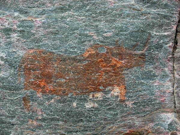 Tsodilo Hills Höhlenmalereien