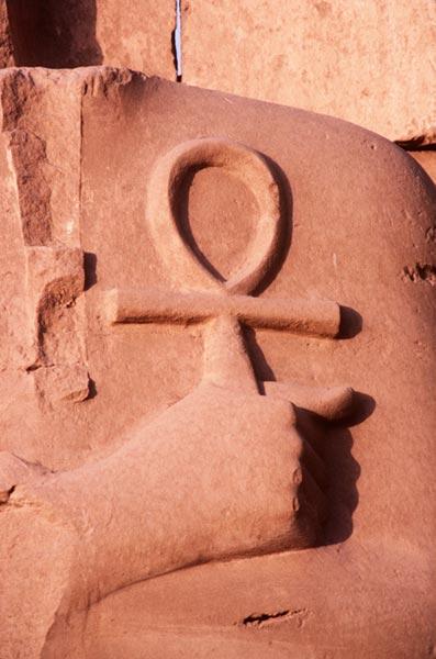 अंख की नक्काशी, जीवन का प्रतीक मिस्र