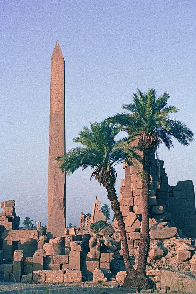 Obelisco della regina Hatshepsut, Karnak