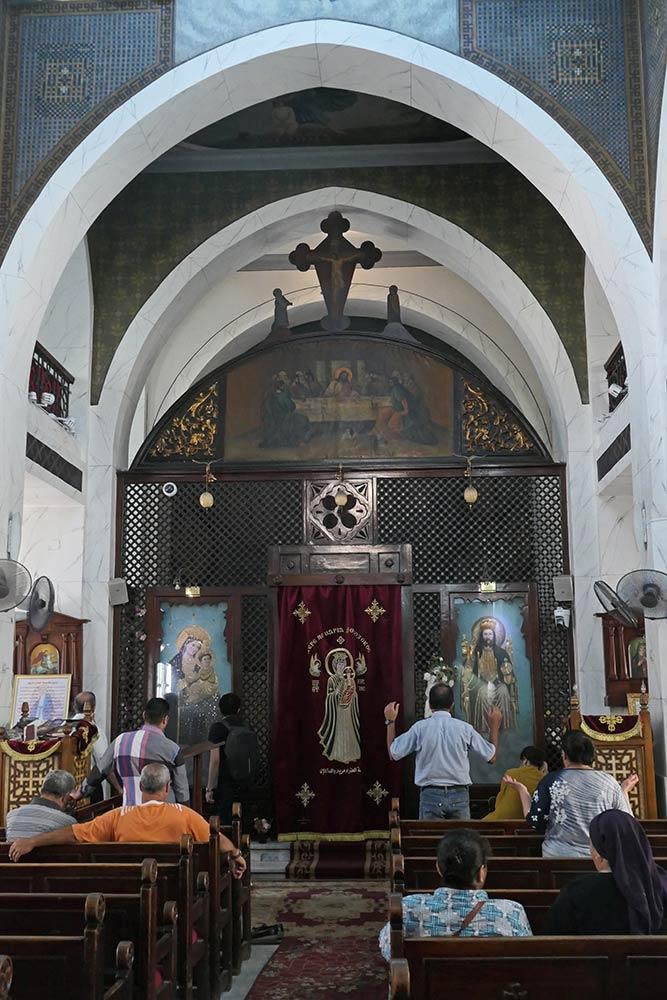 Chiesa copta di Santa Maria, Zeitoun