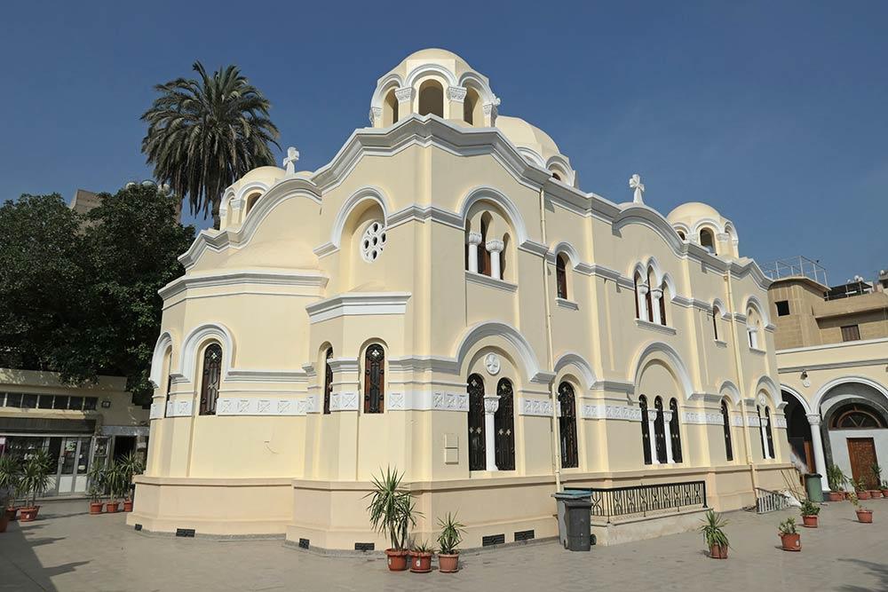 Église copte Sainte-Marie, Zeitoun