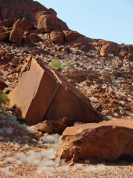 Twyfelfontein Rock Radierungen