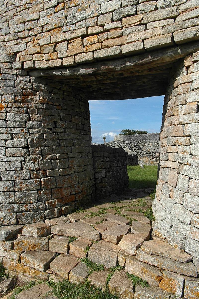 महान जिम्बाब्वे खंडहर, प्रवेश द्वार पोर्टल