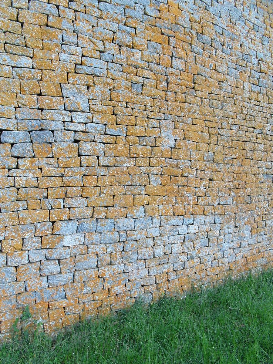 Große Simbabwe-Ruinen, Außenmauern