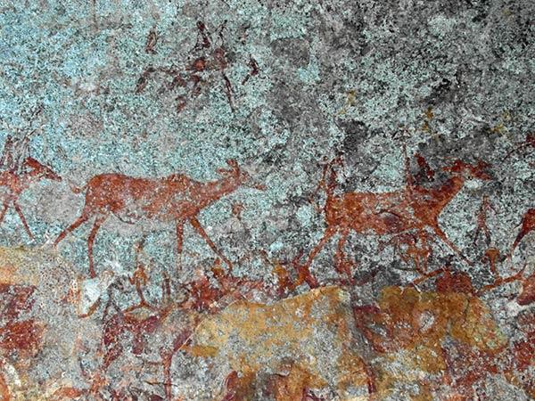 Матопо Хиллз Нсватуги Пещерные наскальные рисунки