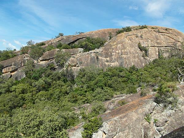 Матопо Хиллз, вид на холмы