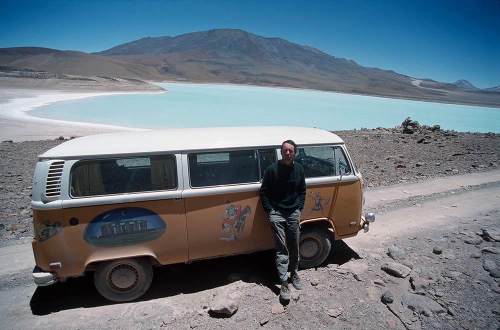 Dusty Magic Bus mit Martin Gray (1998), Laguna Verde (über 11,000 Füßen)