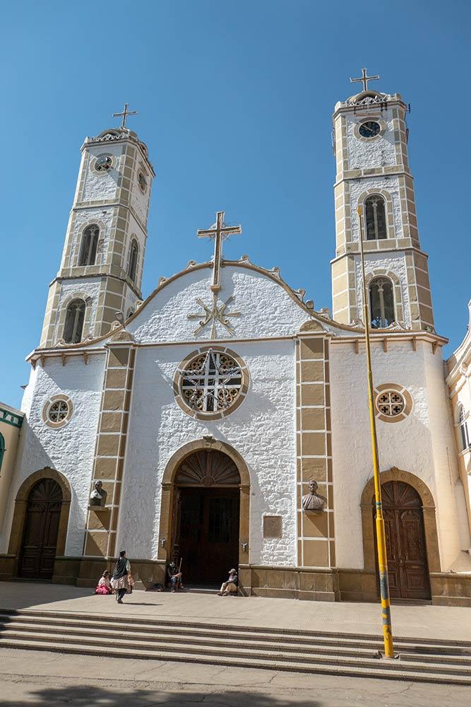 Kirche von San Ildefonso, Virgen von Urkupi, Quillacollo