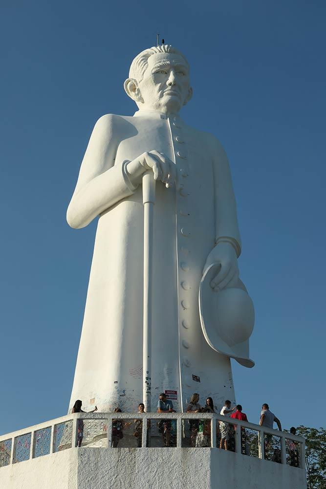 Statue von Pater Cicero, Juazeiro do Norte