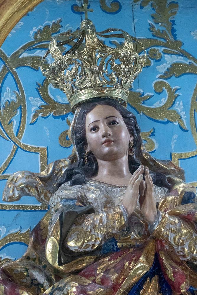 Heilige Marienstatue, Kirche von Nossa Senhora da Conceição da Praia, Salvador