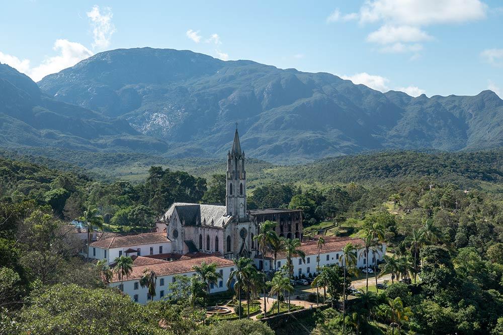 Kirche in Santuário do Caraça