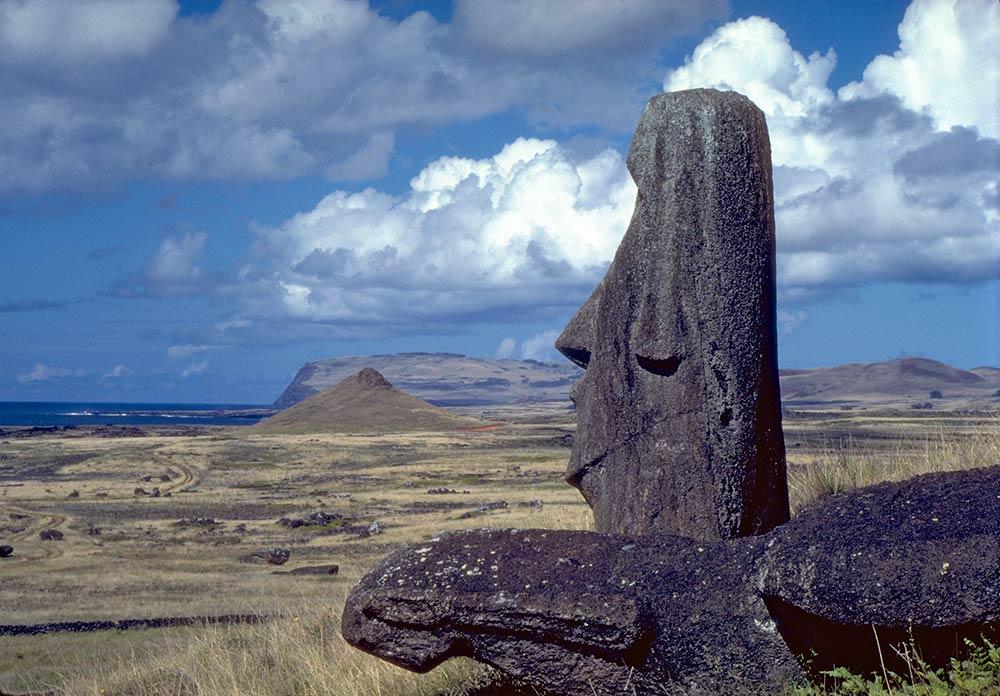 Têtes de pierre - Moaï - Ile de Pâques