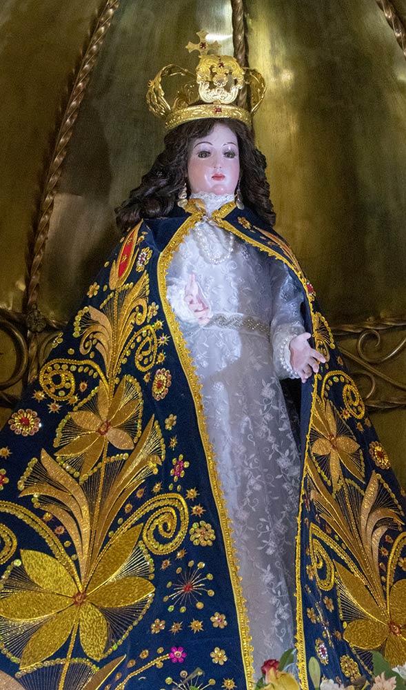 Statue sacrée de Marie, Santuario Lo Vasquez