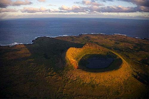 Rano-Raraku-Vulkan