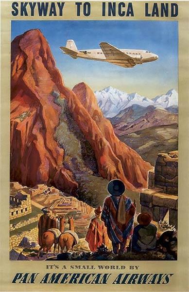 винтажный туристический плакат