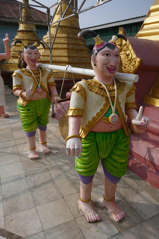 Pagoda di Kyaik Khauk, Thanlyin