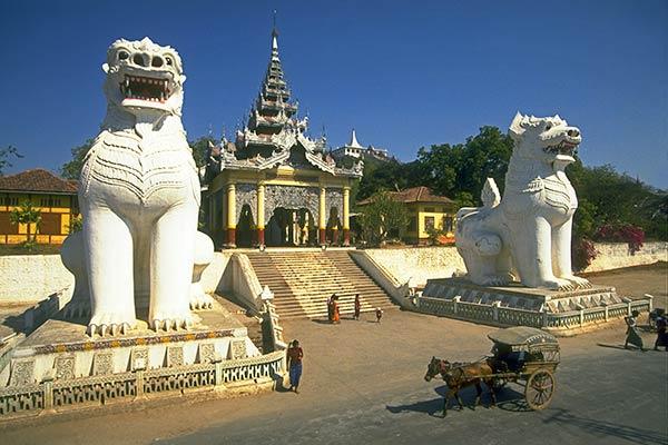 Портал к священному холму Мандалая, Бирма