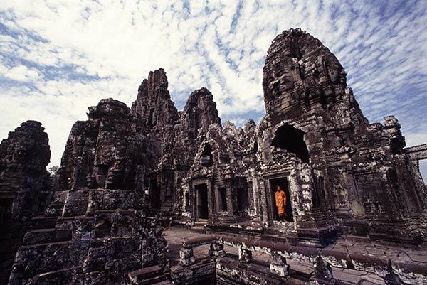 Bayon Tempel, Angkor, Kambodscha