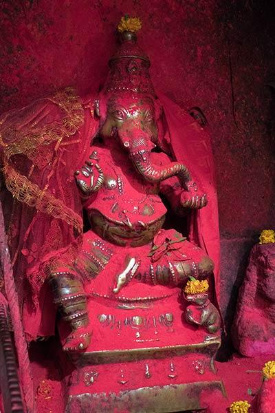 Estatua de la deidad hindú Ganesh, Templo Navagraha