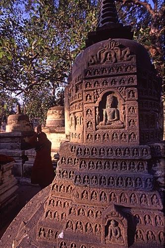 Kleiner Stupa, Bodh Gaya