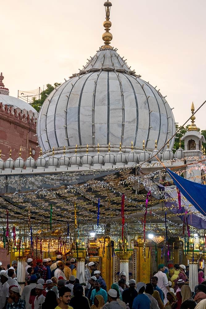 Nizamuddin Dargah, Nuova Delhi