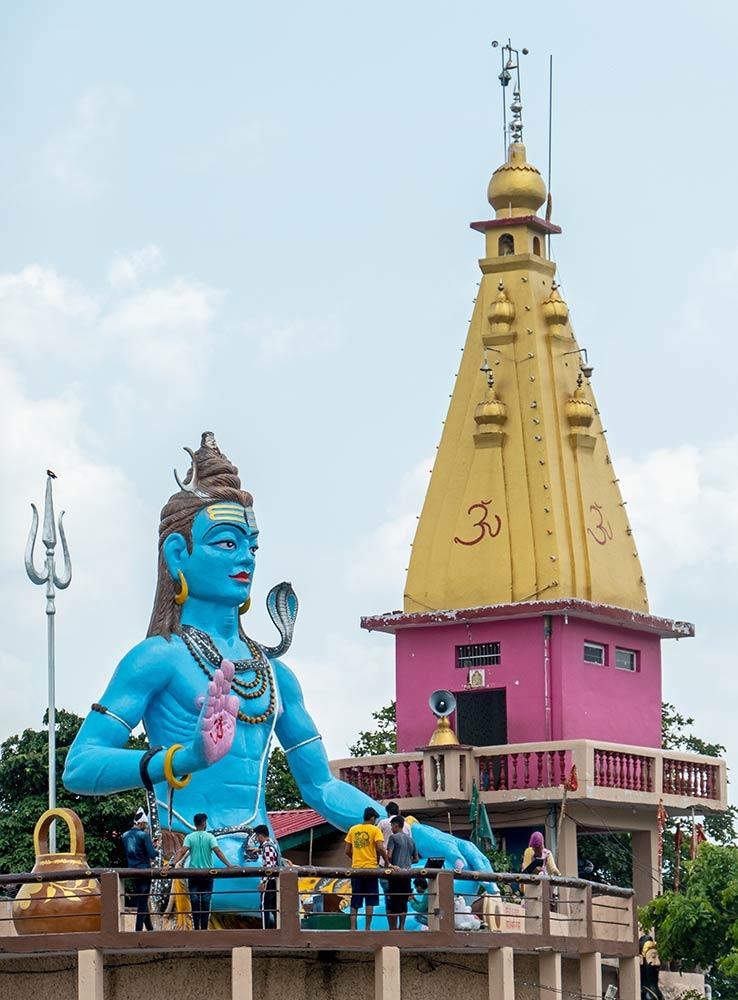 Templo Baba Garib Nath, Raipur Maidan
